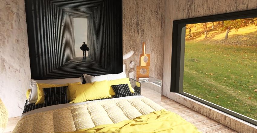 Tiny d'automne Interior Design Render