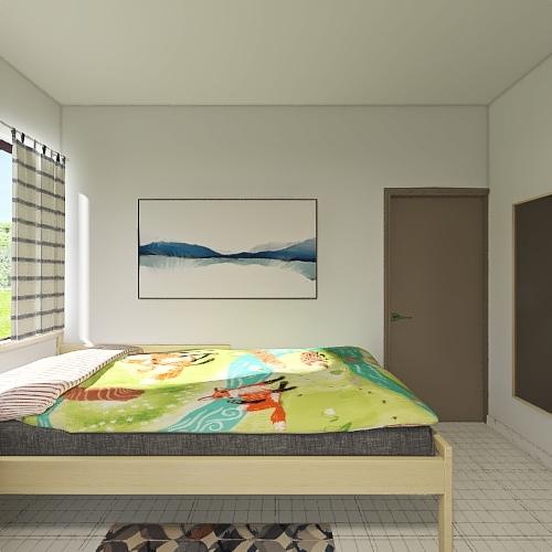 CUARTO MEL Interior Design Render