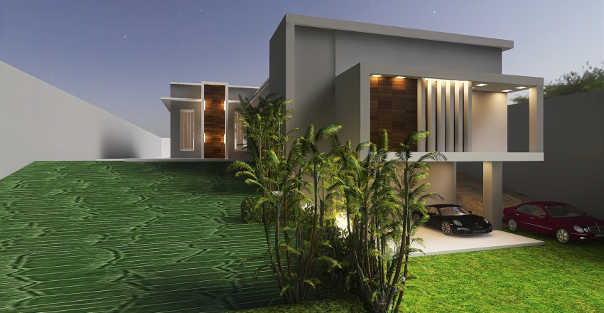 Home Ana Interior Design Render