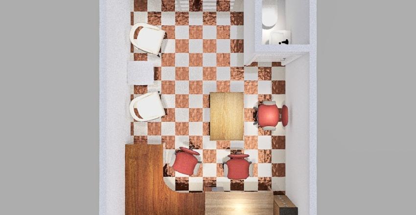 Office Mosque Interior Design Render