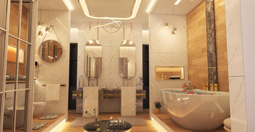 #HSDA2020Residential Luxury Ensuite  Interior Design Render