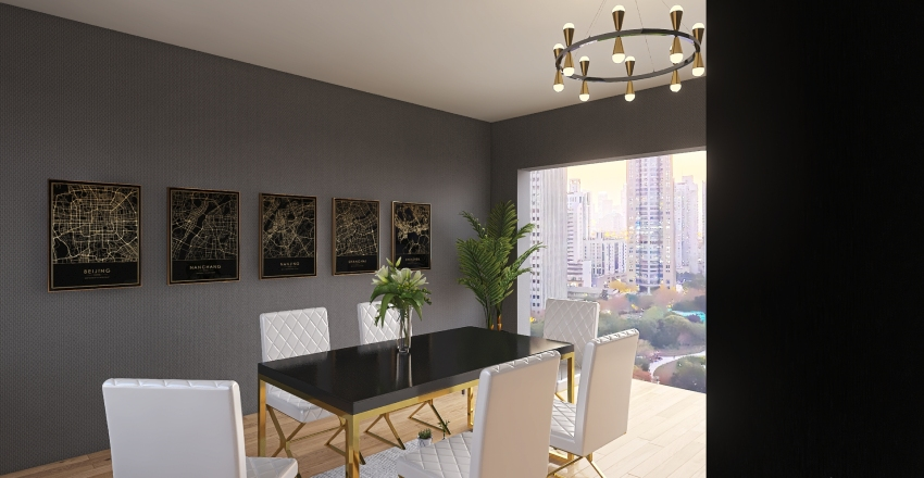 comedor valle Interior Design Render