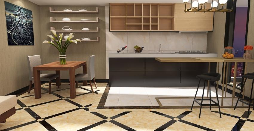 4w8w44s Interior Design Render