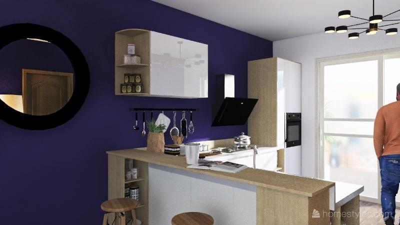 My Tiny House 1 Interior Design Render