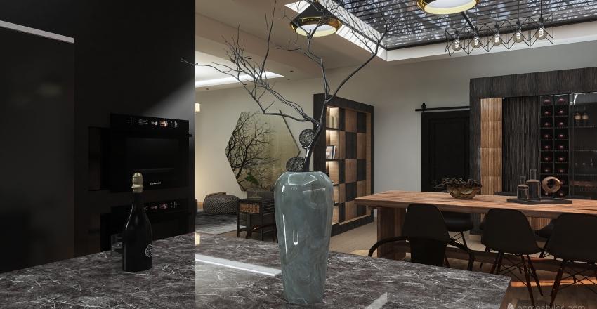 #HSDA2020Residential  Winter County Escape Interior Design Render