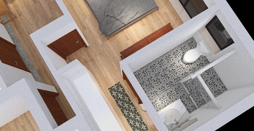בית 80 מטר אופציה א Interior Design Render