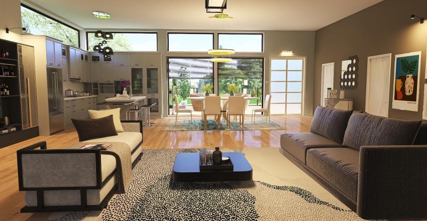 paradise retreat Interior Design Render