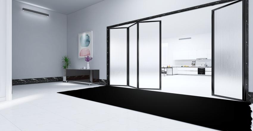 Minimalism Home Interior Design Render