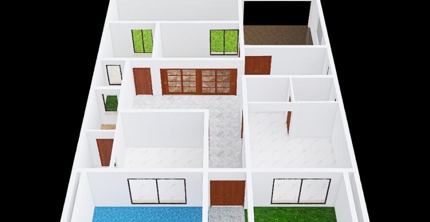 156 Ground Floor Interior Design Render