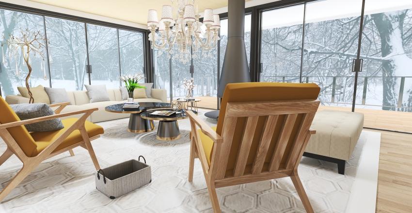 Mountain Interior Design Render