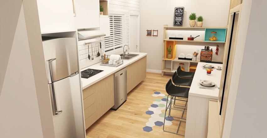 Vanderleia Marques - UPK Interior Design Render
