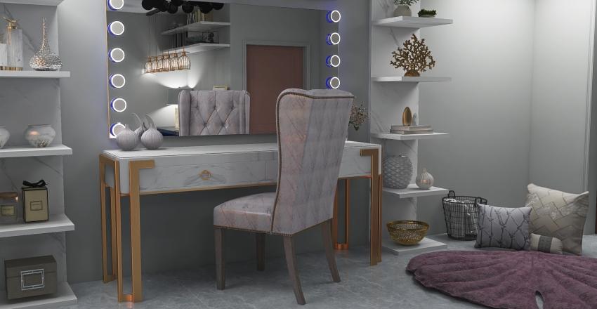 MAKEUP Interior Design Render