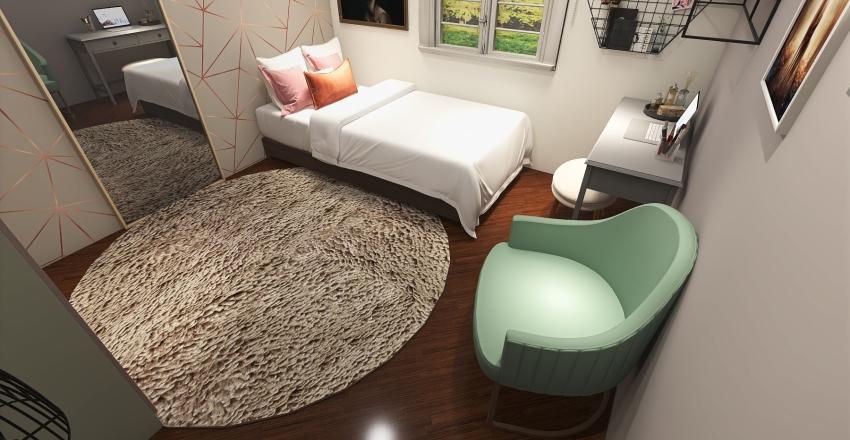 Quarto Isabelly Interior Design Render