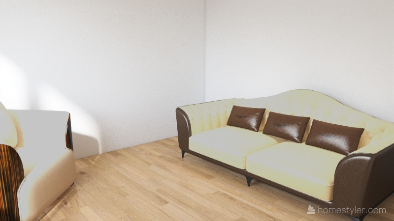 The Small Place Interior Design Render