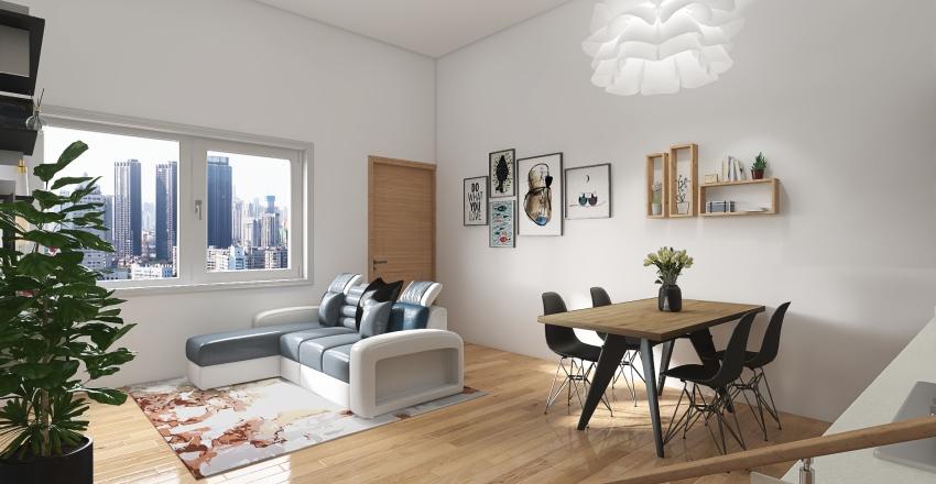 Bresso_2° Mini appartamento Interior Design Render