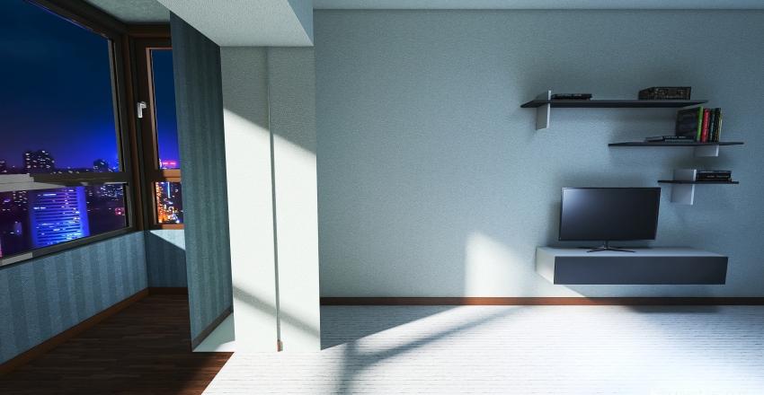 v2_3Д модель квартиры 1 Interior Design Render