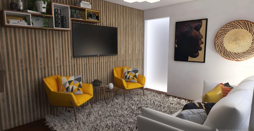 v2_sala Interior Design Render