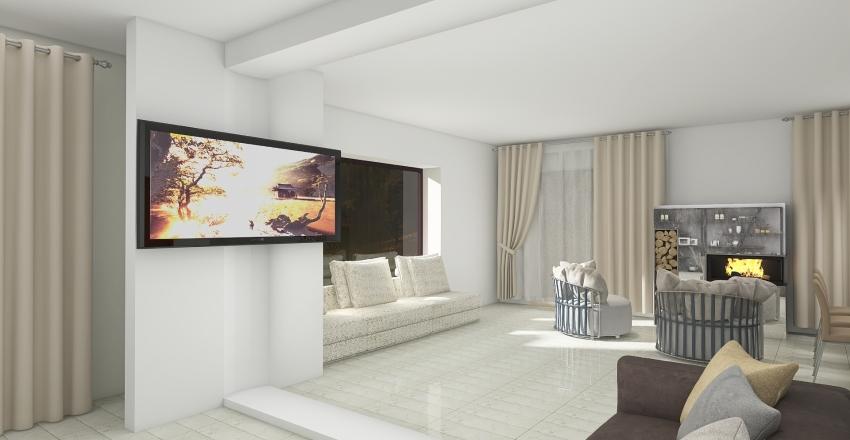 3 вариант Западный 1 этаж Interior Design Render