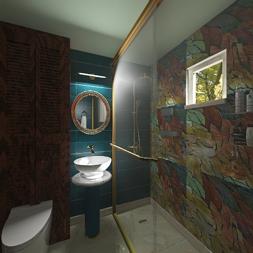 Bathroom for Annet Interior Design Render