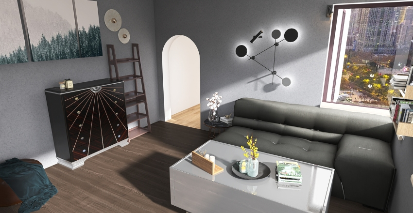 Modern Interior Design Render