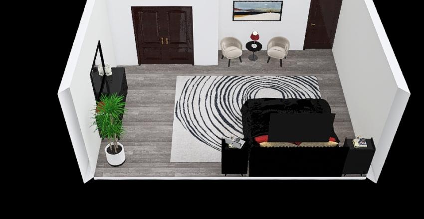 Heideman_Bedroom_Floor_Plan Interior Design Render