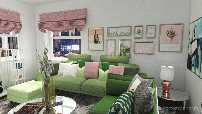 Case Study Living Room Submission Renee Robinson Interior Design Render