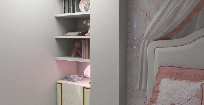HABITACIÓN PARA NIÑA Interior Design Render