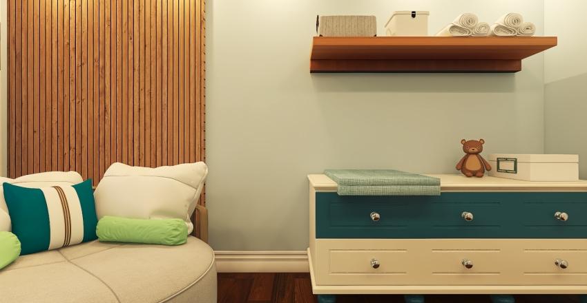 022  baby's room Interior Design Render