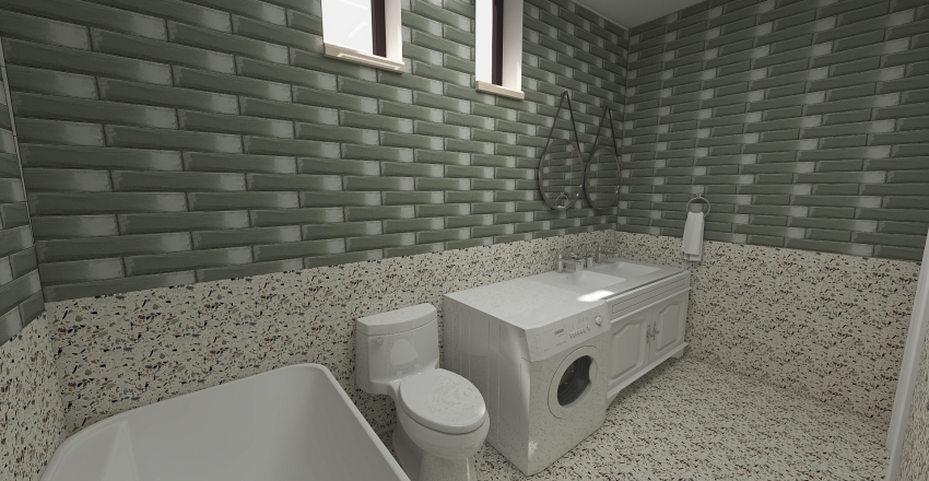 οικονομιδης Interior Design Render