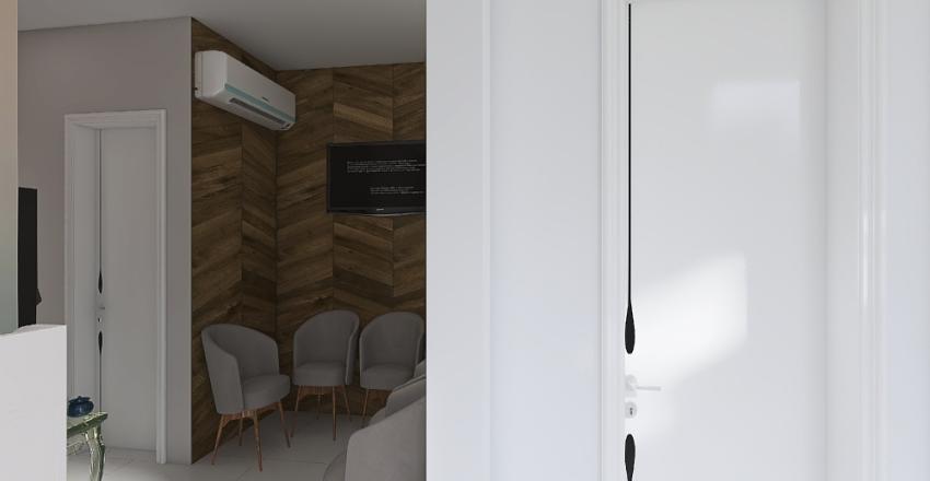 Clínica Estética Glamur Interior Design Render