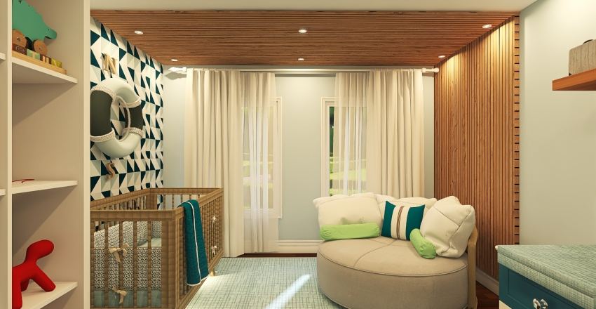 022| baby's room Interior Design Render