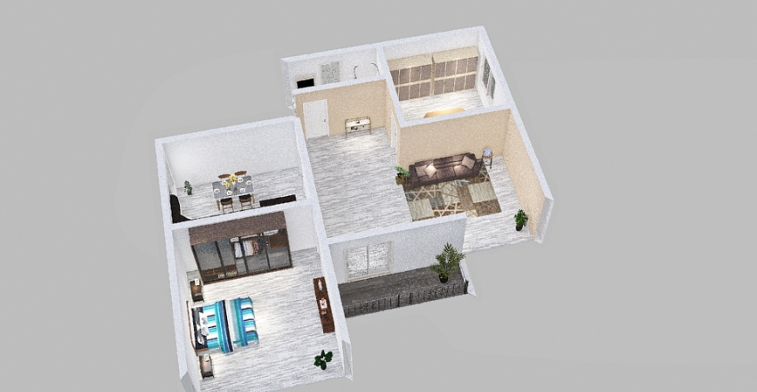 savona Interior Design Render