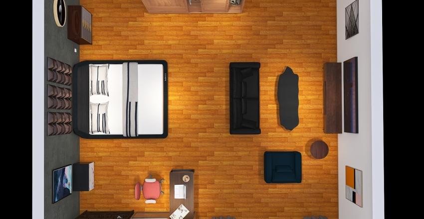 VERSATILE ROOM Interior Design Render