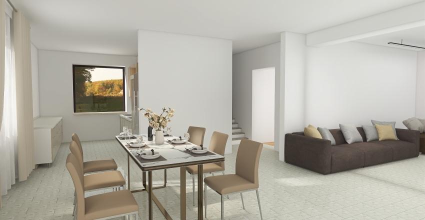 4 вариант Западный 1 этаж Interior Design Render