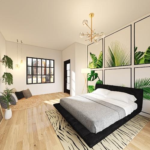 Scandinavian by Kalani Interior Design Render