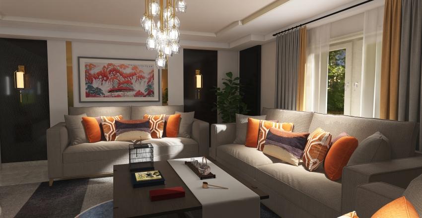 غرفه Interior Design Render