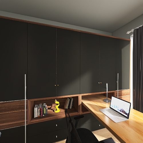 room for boys Interior Design Render