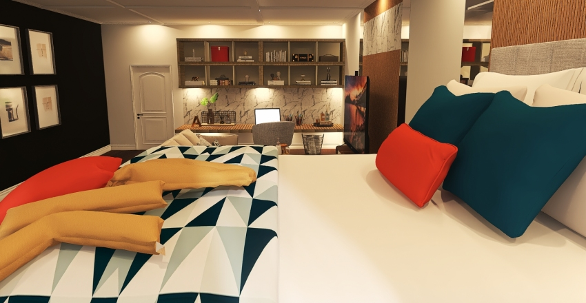 023| teenage dream Interior Design Render