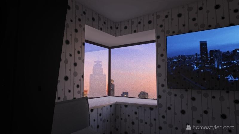 My Final FCS Apartment Project Interior Design Render