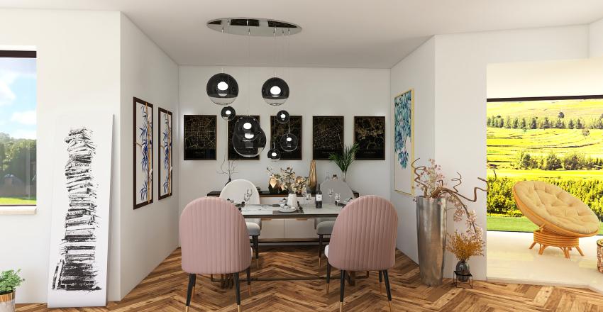 NATURALISTIC HERMITAGE Interior Design Render