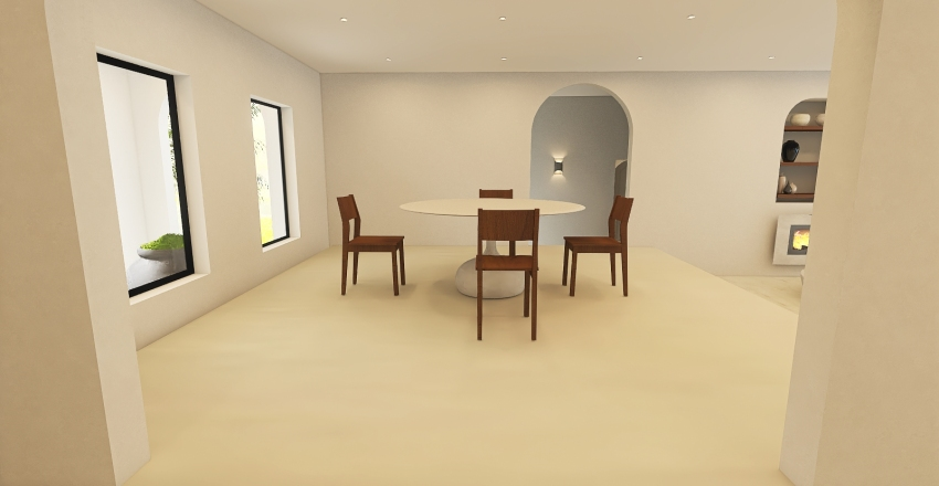 024| minimalism Interior Design Render