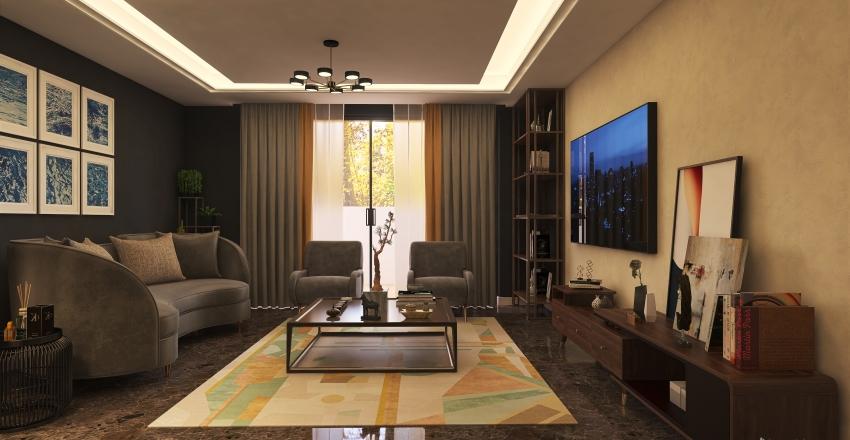 new livingroom Interior Design Render