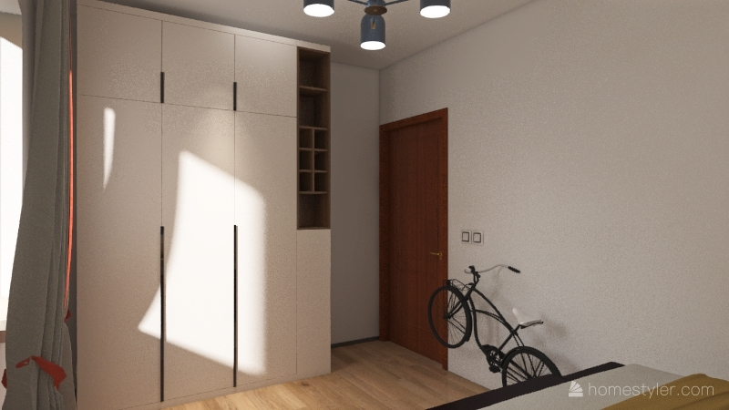 Smallhouse Interior Design Render