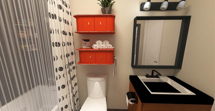 Bathroom Remodel Interior Design Render