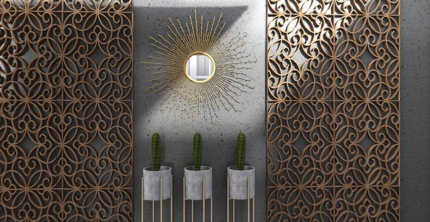 Rita's Hollywood inspired glamour home Interior Design Render