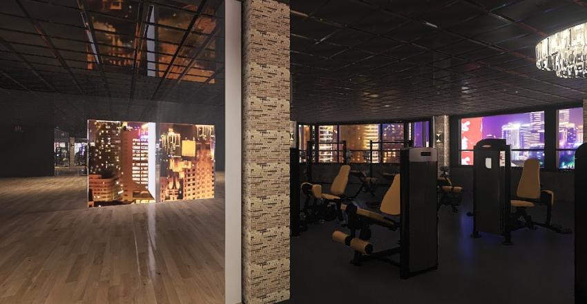 fitness_indong Interior Design Render
