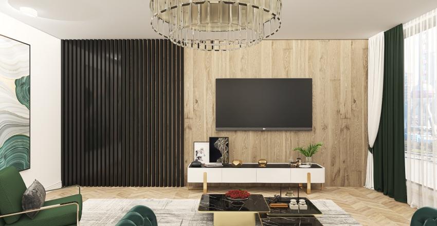 Living room SC Interior Design Render