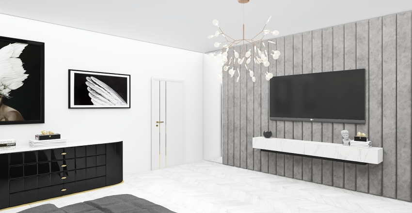 Bedroom inspiration Interior Design Render