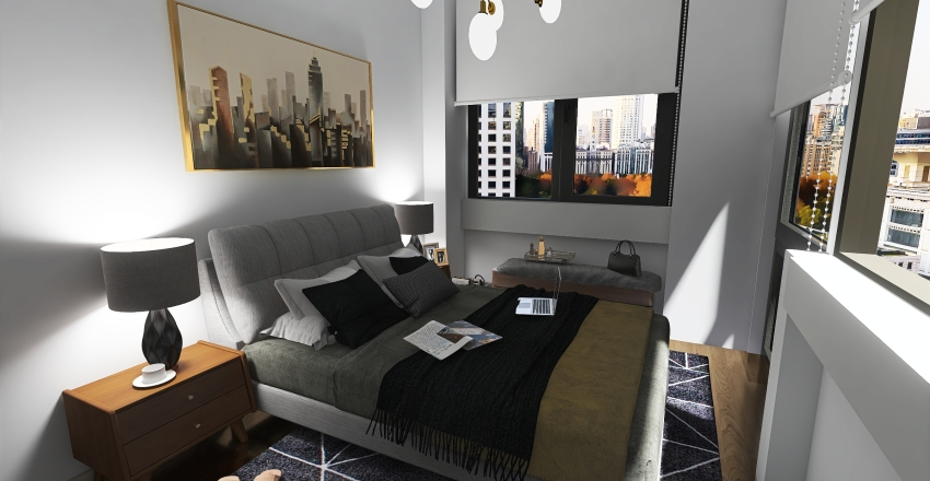 Proyecto Srita. Adriana Ventosa Interior Design Render