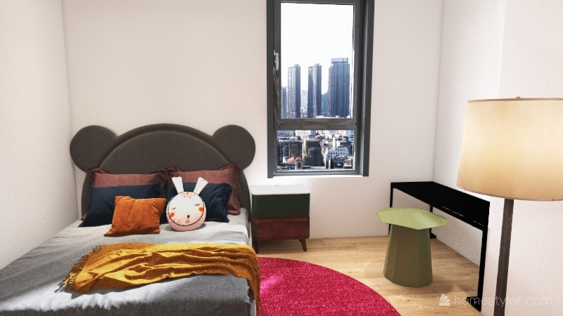 Apartamento 1 Interior Design Render